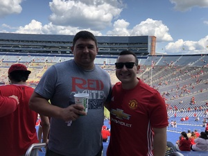 Andrew attended Manchester United vs. Liverpool FC - International Champions Cup 2018 on Jul 28th 2018 via VetTix