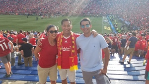 Angelica attended Manchester United vs. Liverpool FC - International Champions Cup 2018 on Jul 28th 2018 via VetTix