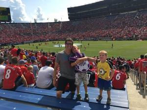 Barton attended Manchester United vs. Liverpool FC - International Champions Cup 2018 on Jul 28th 2018 via VetTix