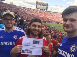 Joe C attended Manchester United vs. Liverpool FC - International Champions Cup 2018 on Jul 28th 2018 via VetTix
