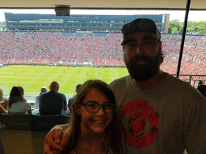 christopher attended Manchester United vs. Liverpool FC - International Champions Cup 2018 on Jul 28th 2018 via VetTix