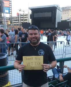 Russell attended Def Leppard and Journey Live in Concert on Jul 13th 2018 via VetTix
