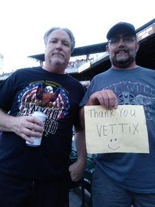 Brian attended Def Leppard and Journey Live in Concert on Jul 13th 2018 via VetTix