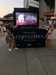 Kimberly attended Taylor Swift Reputation Tour on Aug 25th 2018 via VetTix