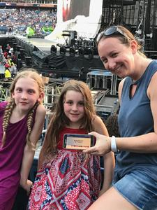 Sonia attended Taylor Swift Reputation Tour on Aug 25th 2018 via VetTix