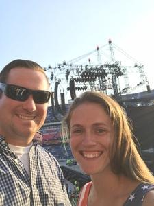 Nathan attended Taylor Swift Reputation Tour on Aug 25th 2018 via VetTix
