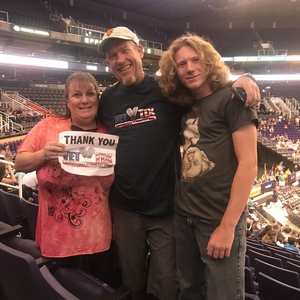 Rebecca attended Harlem Globetrotters 2018 World Tour - 1pm Show on Aug 11th 2018 via VetTix