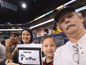Jerry attended Harlem Globetrotters 2018 World Tour - 1pm Show on Aug 11th 2018 via VetTix