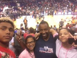SHELDON attended Harlem Globetrotters 2018 World Tour - 1pm Show on Aug 11th 2018 via VetTix