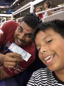 Alicia attended Harlem Globetrotters 2018 World Tour - 1pm Show on Aug 11th 2018 via VetTix