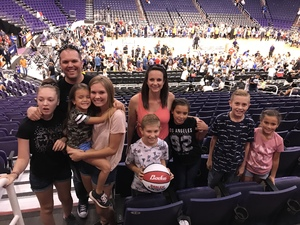 Jessica attended Harlem Globetrotters 2018 World Tour - 1pm Show on Aug 11th 2018 via VetTix