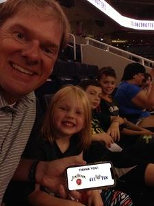 Shane attended Harlem Globetrotters 2018 World Tour - 1pm Show on Aug 11th 2018 via VetTix
