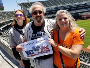 Scott attended Oakland Athletics vs. San Francisco Giants - MLB on Jul 22nd 2018 via VetTix
