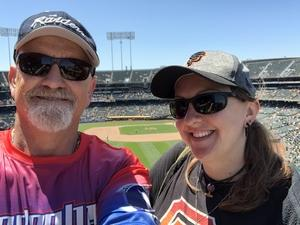 Tim attended Oakland Athletics vs. San Francisco Giants - MLB on Jul 22nd 2018 via VetTix