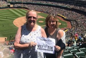 Laurie attended Oakland Athletics vs. San Francisco Giants - MLB on Jul 22nd 2018 via VetTix