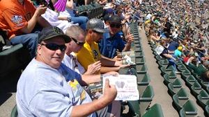 Terence attended Oakland Athletics vs. San Francisco Giants - MLB on Jul 22nd 2018 via VetTix