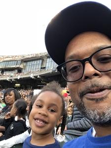 Philbert attended Oakland Athletics vs. San Francisco Giants - MLB on Jul 22nd 2018 via VetTix