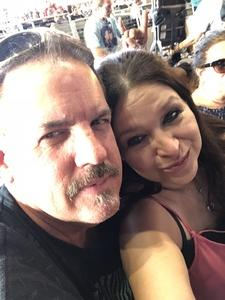 Francine Rodriguez  Fivash Boyd attended Stars Align Tour: Jeff Beck & Paul Rodgers and Ann Wilson of Heart on Jul 25th 2018 via VetTix