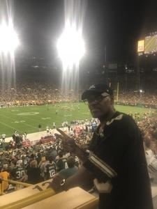 Erwin attended Green Bay Packers vs. Tennessee Titans - NFL Preseason on Aug 9th 2018 via VetTix