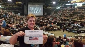 Amy attended Shania Twain: Now on Jul 17th 2018 via VetTix