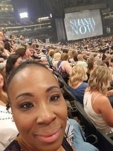 Venecia attended Shania Twain: Now on Jul 17th 2018 via VetTix