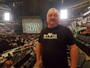 Samuel attended Shania Twain: Now on Jul 17th 2018 via VetTix