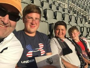 peter attended DC United vs. Vancouver Whitecaps FC - MLS - 1st Ever Match at Audi Field on Jul 14th 2018 via VetTix