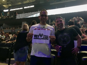 Brian attended Counting Crows With Special Guest +live+: 25 Years and Counting on Jul 18th 2018 via VetTix