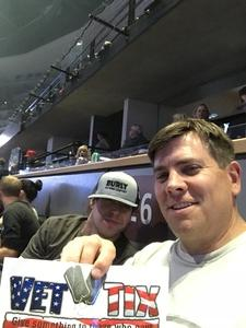 Randy attended Counting Crows With Special Guest +live+: 25 Years and Counting on Jul 18th 2018 via VetTix