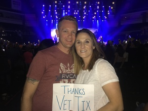 Matt Smith attended Journey and Def Leppard - Live in Concert on Jul 18th 2018 via VetTix