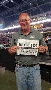 Gerald aka Jerry Weiland attended Journey and Def Leppard - Live in Concert on Jul 18th 2018 via VetTix
