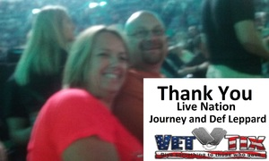 Jonathan attended Journey and Def Leppard - Live in Concert on Jul 18th 2018 via VetTix