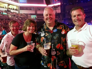 Chris attended Journey and Def Leppard - Live in Concert on Jul 18th 2018 via VetTix