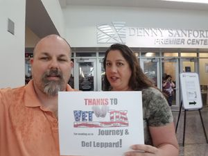 Carl attended Journey and Def Leppard - Live in Concert on Jul 18th 2018 via VetTix