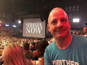 Timothy attended Shania Twain: Now on Jul 18th 2018 via VetTix