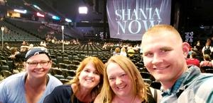 Adam attended Shania Twain: Now on Jul 18th 2018 via VetTix
