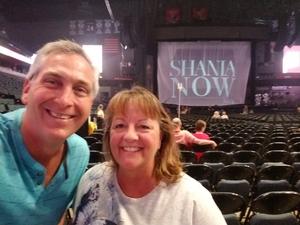 Mark attended Shania Twain: Now on Jul 18th 2018 via VetTix