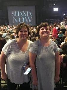 Steven attended Shania Twain: Now on Jul 18th 2018 via VetTix