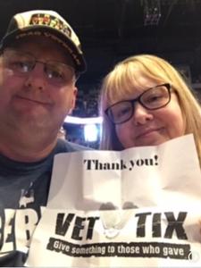 Dustan attended Shania Twain: Now on Jul 18th 2018 via VetTix