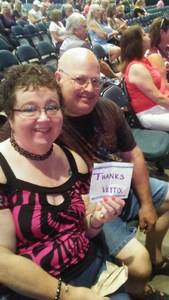 Paul attended Shania Twain: Now on Jul 18th 2018 via VetTix