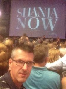 brian attended Shania Twain: Now on Jul 18th 2018 via VetTix