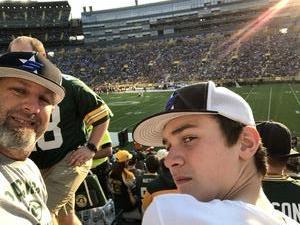 Kelly attended Green Bay Packers vs. Pittsburgh Steelers - NFL Preseason on Aug 16th 2018 via VetTix