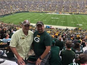 Bruce attended Green Bay Packers vs. Pittsburgh Steelers - NFL Preseason on Aug 16th 2018 via VetTix