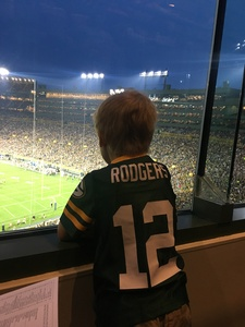 David attended Green Bay Packers vs. Pittsburgh Steelers - NFL Preseason on Aug 16th 2018 via VetTix