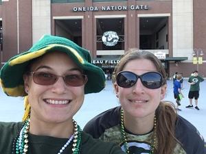 amanda attended Green Bay Packers vs. Pittsburgh Steelers - NFL Preseason on Aug 16th 2018 via VetTix