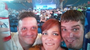 Nathan attended Sugarland on Jul 19th 2018 via VetTix