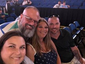 Bryan Barrett attended Sugarland on Jul 19th 2018 via VetTix