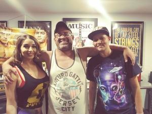 Carlos attended Iron Boy Boxing on Aug 11th 2018 via VetTix