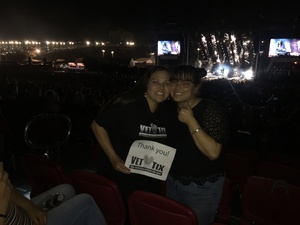 Lisa attended Pentatonix on Jul 19th 2018 via VetTix