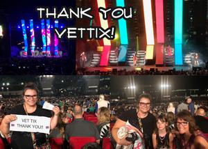 Andy attended Pentatonix on Jul 19th 2018 via VetTix